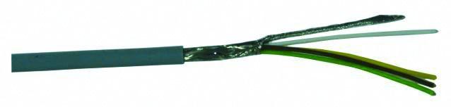 Kabel datový stíněný LiYCY 4x0.14 qmm, role 25m