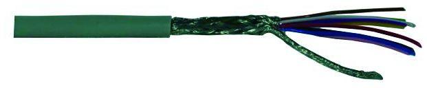 Kabel datový stíněný LiYCY 10x0.14 qmm, role 100m