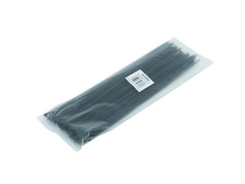 Vázací pásky na kabely 300x2,9mm, černé (100ks)